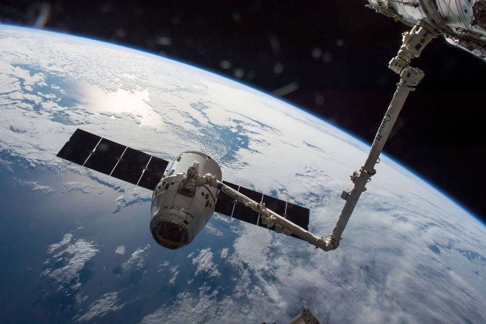 SpaceX Cargo Launch to ISS on Track Despite Crew Dragon Test Anomaly