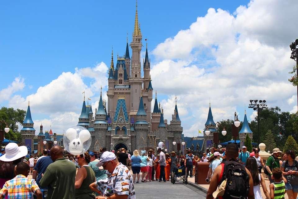 Undated photo of Cinderella's Castle area at Walt Disney World's Magic Kingdom theme park. Image courtesy of Roger Mayhem via Pixabay