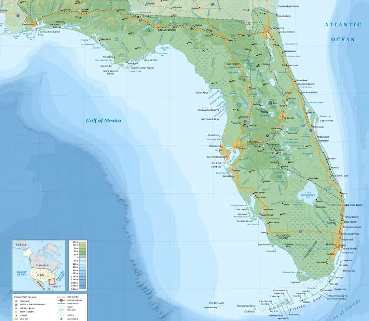 Florida map image courtesy of Wikimedia Commons