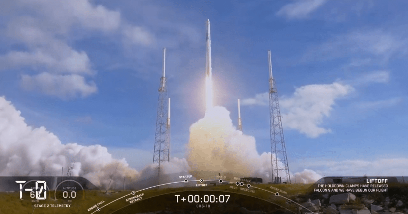 SpaceX Achieve Milestone Launching a Dragon For a Third Time