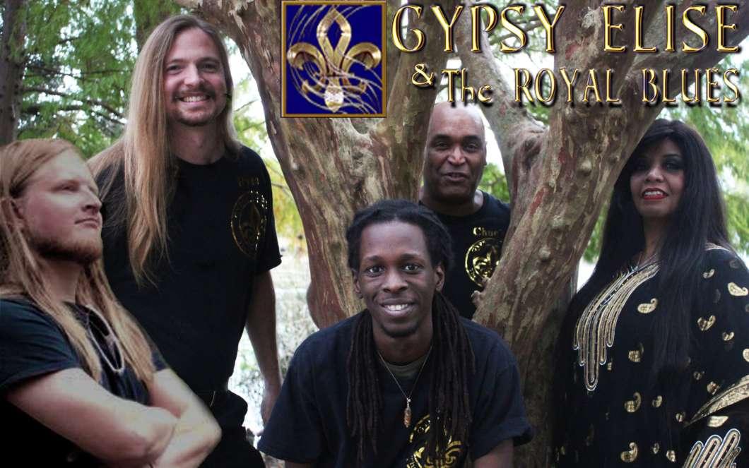 Gypsy Elise and the Royal Blues. Photo courtesy of Gypsy Elise and the Royal Blues band website.