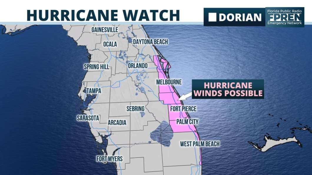 Evacuation Ordered for SC Coast as Dorian Threatens