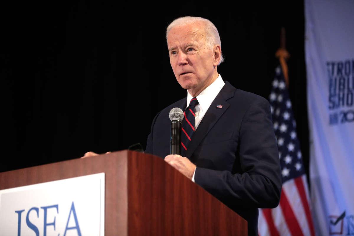 Democratic Debate Starts With a Biden-Bernie Elbow Bump (And a Cough)