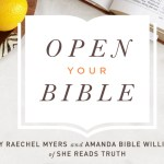 Open Your Bible | Giveaway!