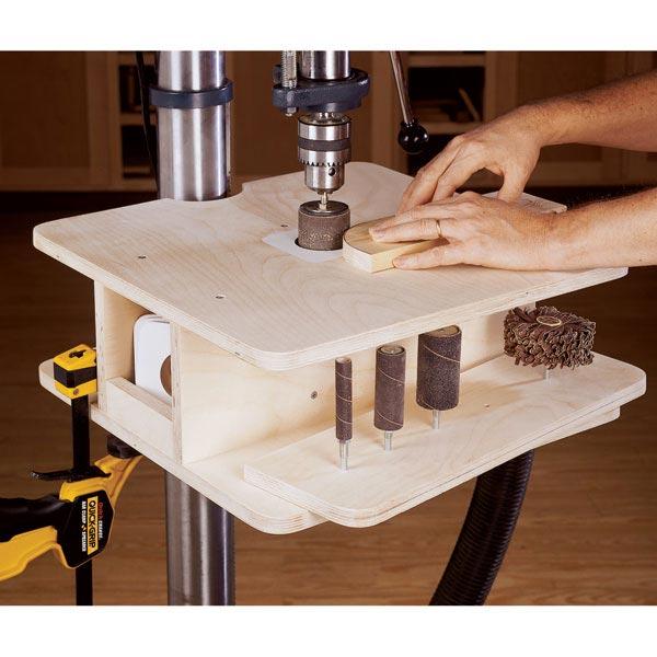 Home / Woodworking Plans / Workshop & Jigs / Jigs & Fixtures / Drill ...