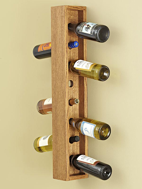 ... Plans / Gifts & Decorations / Kitchen Accessories / Wall-hung Wine