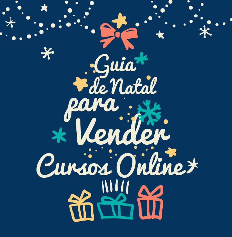 guia de natal vender cursos online