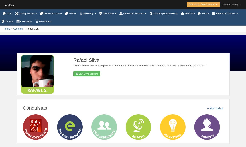 Página Pública do Aluno