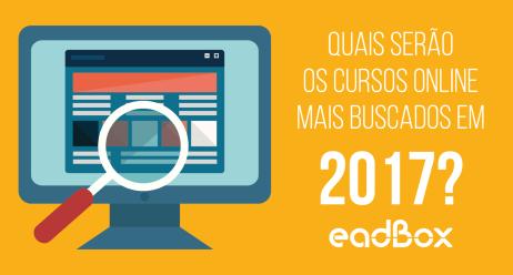 infografico tendências cursos online mais buscados 2017