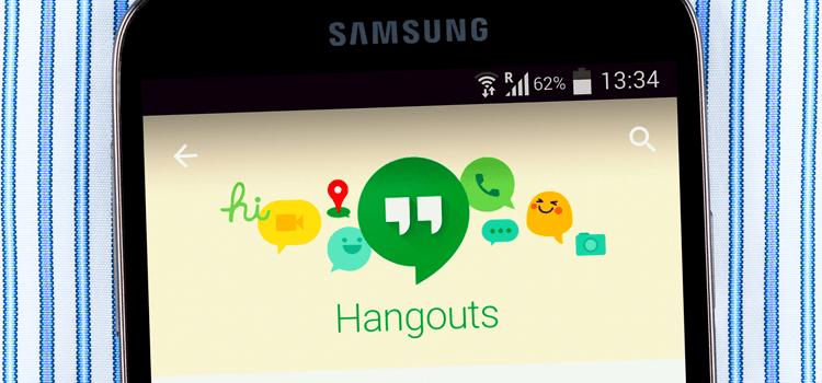 Como funciona Hangout do Google