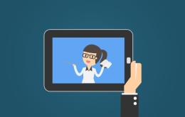 como usar treinamento em vídeo