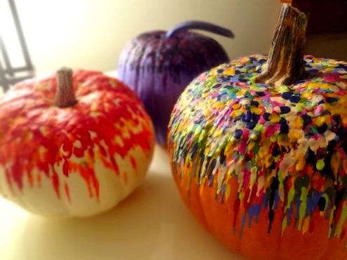 Pumpkin Crayon