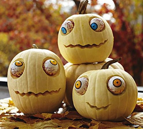 Pumpkin Googly Eyed