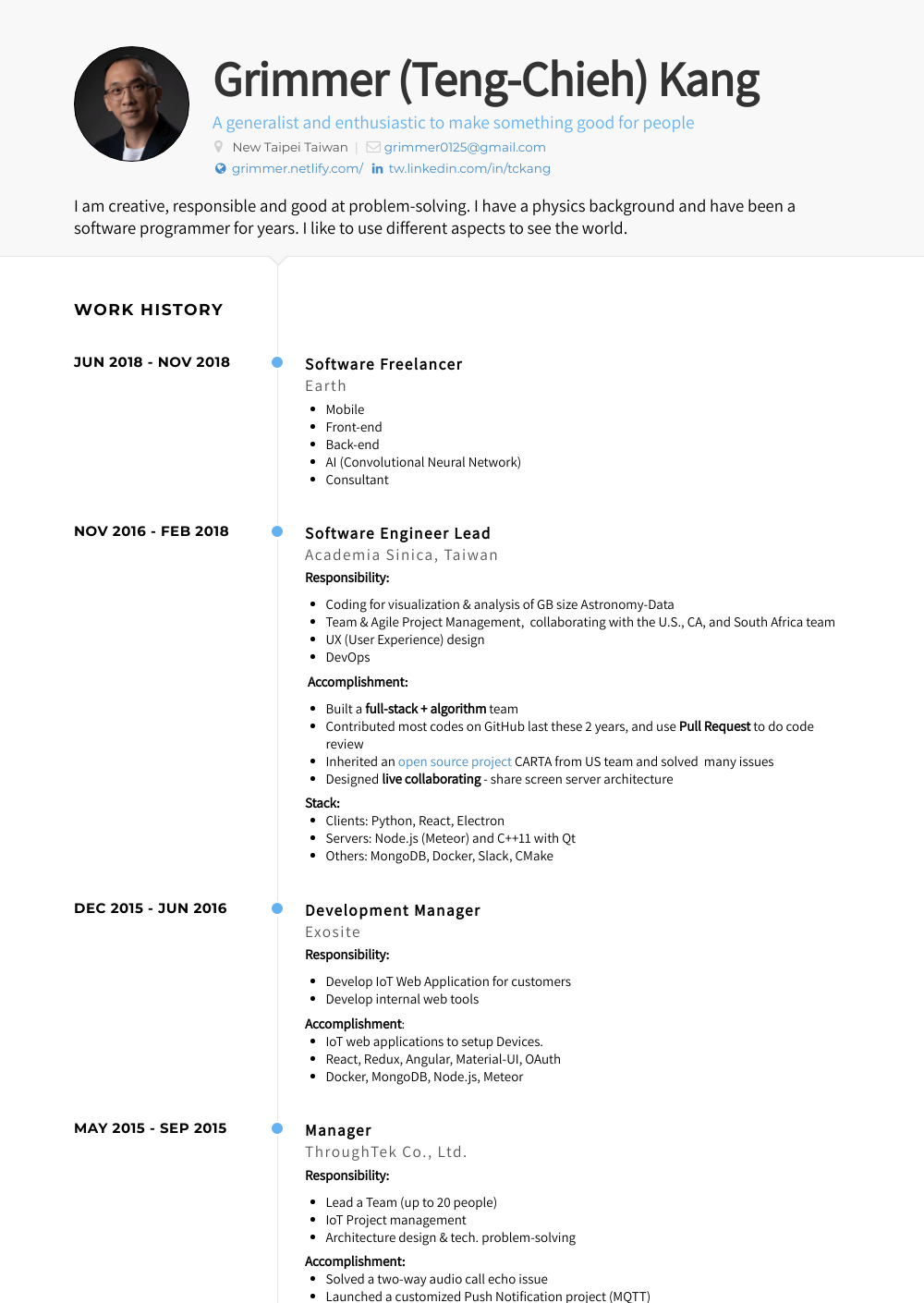 Software Development Manager Resume Samples And Templates