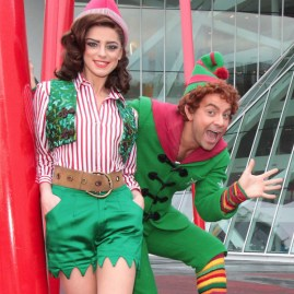 Aoibhinn McGinnity and Ben Forster starred in the UK tour of Elf last year