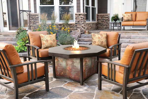 outdoor living coastal spa patio