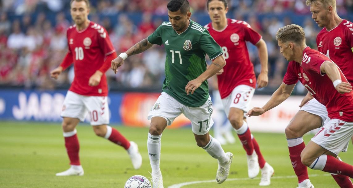 México cae sin atenuantes anteDinamarca