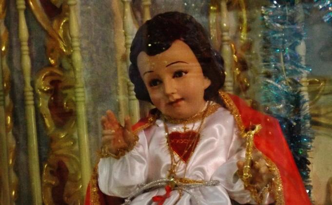 Uniforman al niño Dios para que le gane México aAlemania
