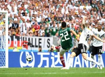 Gol de México contra Alemania genera sismo artificial porfestejos