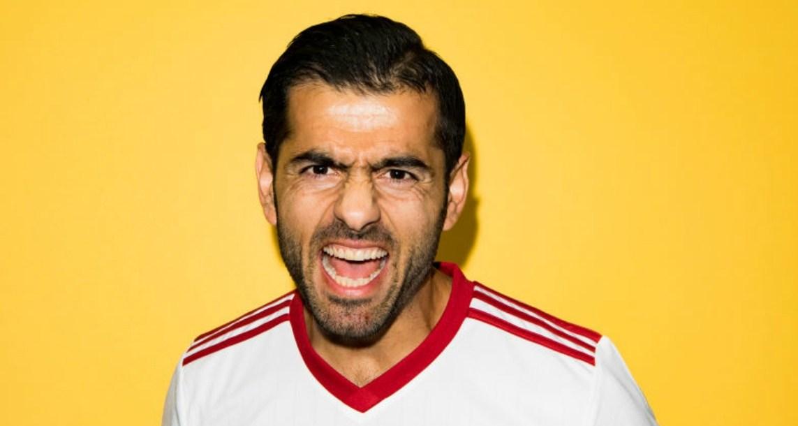 futbolista iraní