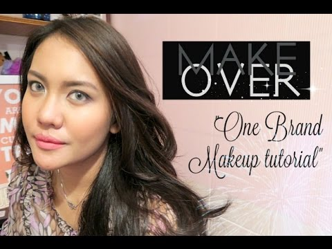 """MAKE OVER"" ONE BRAND MAKEUP TUTORIAL & REVIEW 2016 / INDONESIA"