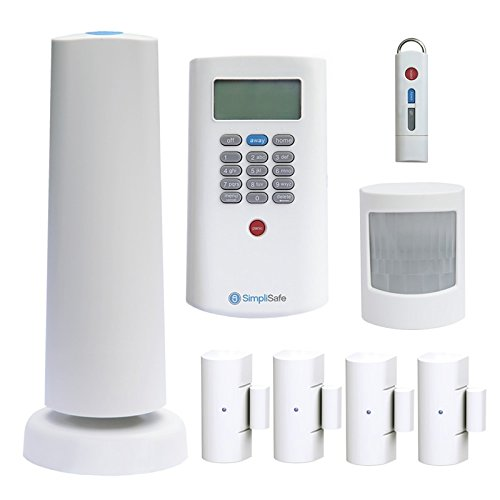 Simplisafe2 Wireless Home Security System 8-piece Plus Package