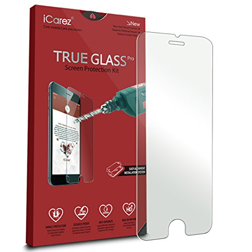 iCarez [Tempered Glass] Screen Protector for Apple iPhone 6 Plus /6s