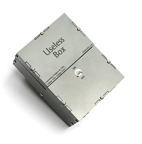 Useless Box Kit – The Original Useless Box Kit Also Known As the Useless Machine or Perpetual Machine A Perfect fit for Geek Gifts