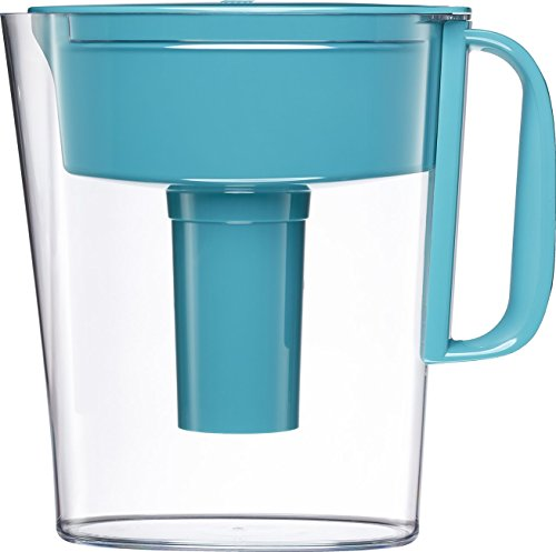 Brita 5 Cup Metro Water Pitcher with 1 Filter BPA Free Turquoise