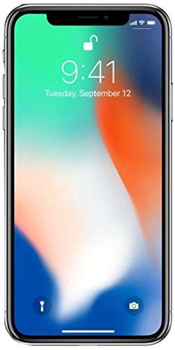 Apple iPhone X Fully Unlocked 5.8″ 256 GB – Silver