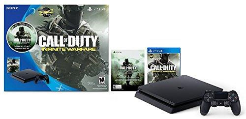 PlayStation 4 Slim 500GB Console – Call of Duty: Infinite Warfare Bundle [Discontinued]