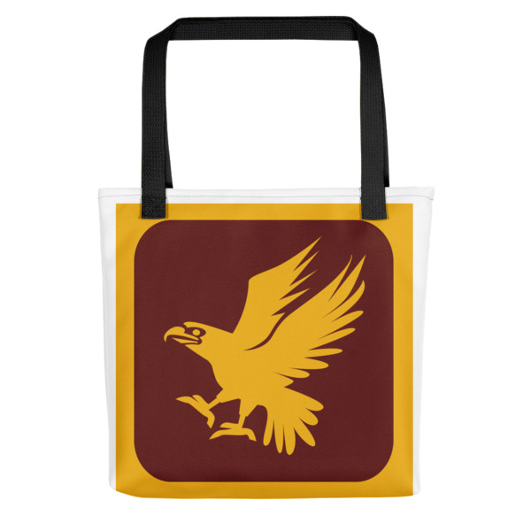 mockup 37bdfe3e - Maroon And Yellow Eagle Tote Bag
