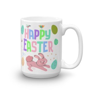 Colorful Happy Easter Coffee Mug