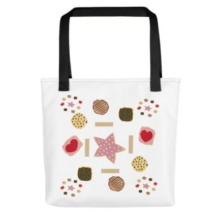 Cookie Circle Tote Bag