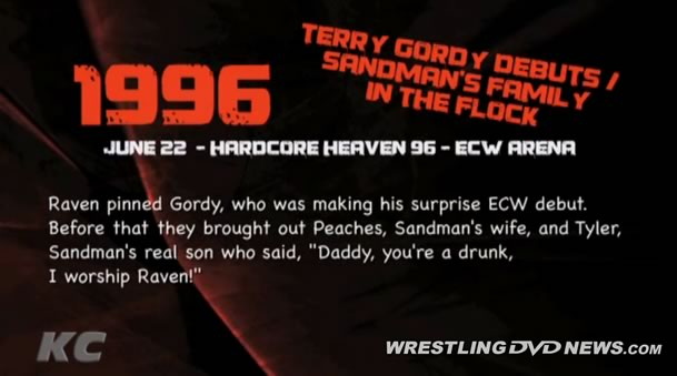 Review: 'Timeline: The History Of ECW 1996' DVD