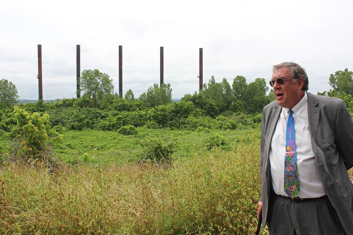 When Birmingham attorney Scotty Colson was a boy, it was the city's steel plants that were pumping out air you could chew. Those plants are mostly gone, but the asthmatic Colson still struggles with the region's bad air. The source, he thinks, is Miller.