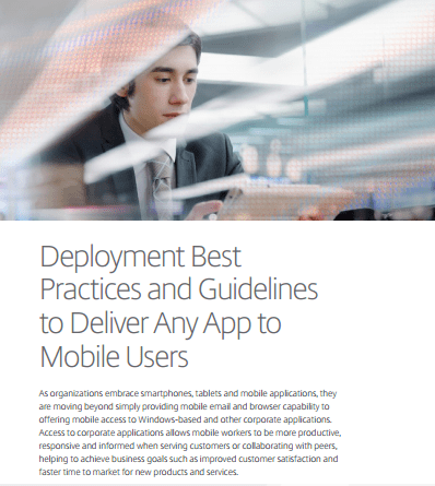 Deployment Best Practices and Guidelines to Deliver Mobile Apps - YourDailyTech