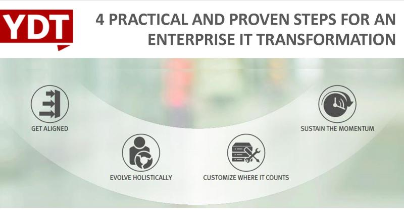 4 Practical and Proven Steps for an Enterprise IT Transformation - YourDailyTech