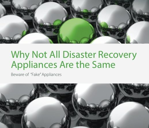 Why Not All Disaster Recovery Appliances Are the Same