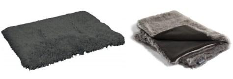 Tapis et couverture pour chien