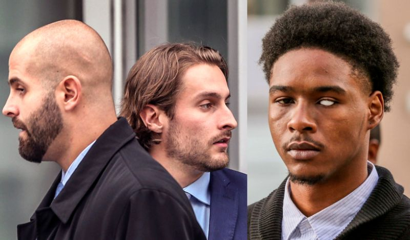 Toronto police officer gets 9-month jail sentence for assaulting black man