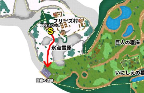 国鉄の遺跡マップ