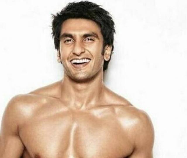 Ranveer Singh Poses Almost Nude