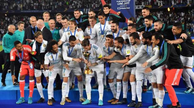 Ronaldo was once again Real's man for the big occasion as his strike went through the Gremio wall eight minutes after the break to ensure the European club champions were also crowned world champions for a fifth straight year. (Photo: AFP)
