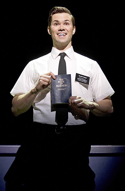 Show Photos - The Book of Mormon - Andrew Rannells