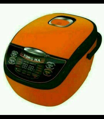 Rice cooker dengan 8 fungsi memasak soup  kukus memasak cepat bubur bubur bayi kue beras merah PRODUK ORIGINAL