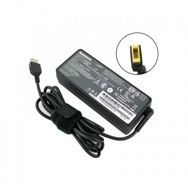 Adaptor Charger Laptop LENOVO 20V - 4.5A  USB Square Mouth ORIGINAL