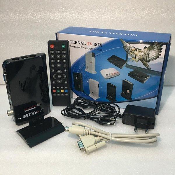TV TUNER External TV Box Converter AV to VGA FOR Monitor CRT-LCD-LED