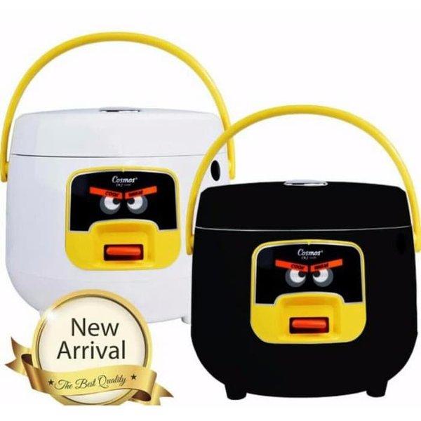 Stok Terbatas COSMOS Rice Cooker Harmond 0.8L - CRJ-6601 Hitam