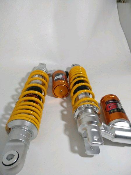 shockbreaker copy ohlins ride it gp tabung bawah clik fungsi double shock ukuran 330mm yamaha Nmax Aerox honda Pcx matic universal